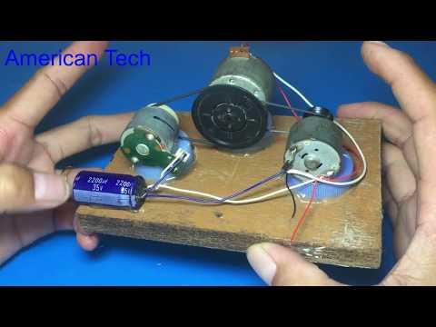 Free energy using piezo igniter as starter