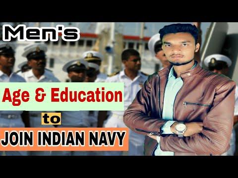 Age & education qualification required to join indian navy sailor entry in hindi how become soldier