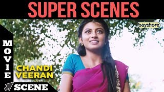 Chandi Veeran - Super Scene 6 | Atharvaa, Anandhi, Lal