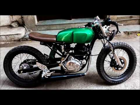 Cafe Racer-Custom Bike- Built By ASG Custom MotorCycle (Muqaddar)