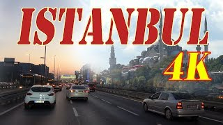 Istanbul Turkey 4K. City | Sights | People