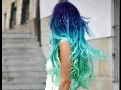 HOW TO- Blue Ombre Hair | Jade Madden