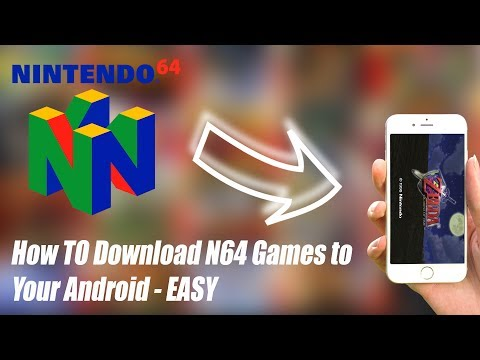 How to Play N64 Games on your Android 2018 - EASY
