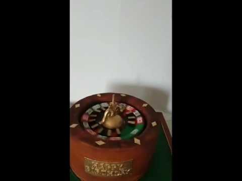 3D spinning roulette wheel cake