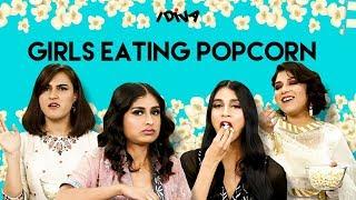 iDIVA - Girls Literally Eating Popcorn Ft Dolly, Stuti, Srijoni And Charu