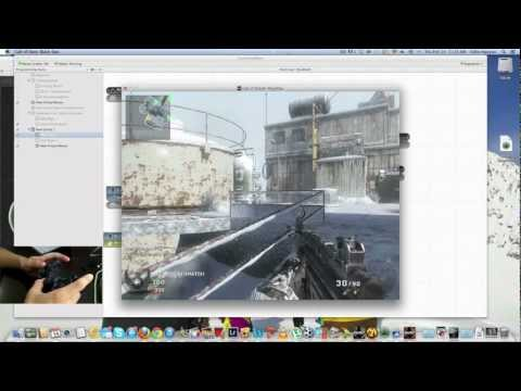 Connect PS3/Xbox controller to iMac or macbook (Call of Duty: blackops)