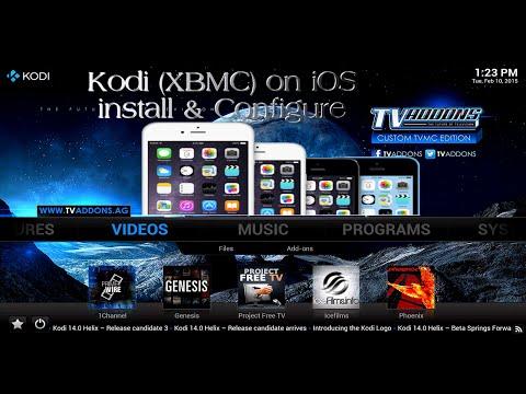 Kodi XBMC iOS Detailed install & Configure Watch