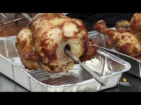 How to roast a whole Chicken on the BBQ rotisserie accessory