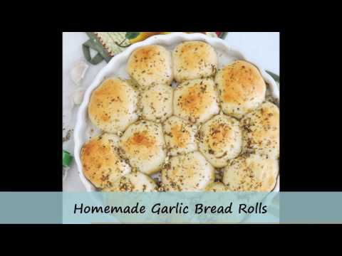 Easy, Made from Scratch Garlic Rolls by Cooking with Manuela