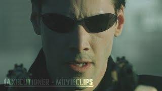 The Matrix |1999| All Fight Scenes [Edited]
