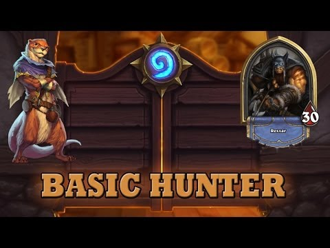 Hearthstone Deck Guide - Starter Hunter (Basic Cards Only)