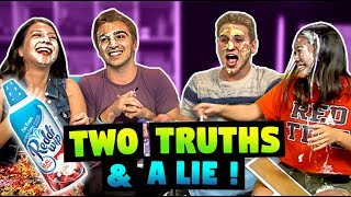 TWO TRUTHS & A LIE! (ft. FBE React Cast & Staff)
