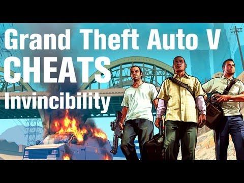 GTA 5 Cheats - Invincibility
