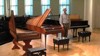 Wittmayer 2 Manual Concert Harpsichord for Sale - Living