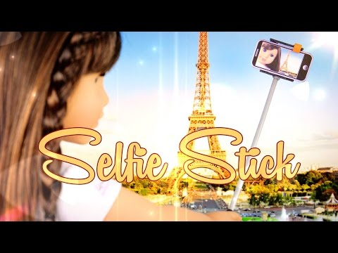 DIY - How to Make: Doll Selfie Stick - Handmade - Doll - Crafts