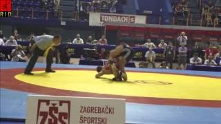 Em 2012 66kg Gr./rö. Etlinger (cro) - Aliyev (aze) Runde 2