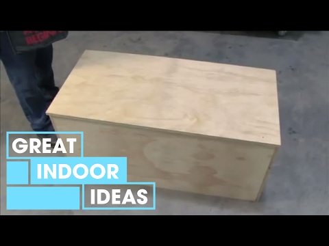 How To Build A Storage Chest | Indoor | Great Home Ideas