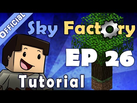Minecraft Sky Factory Official Tutorial 26 - Harvester And Planter