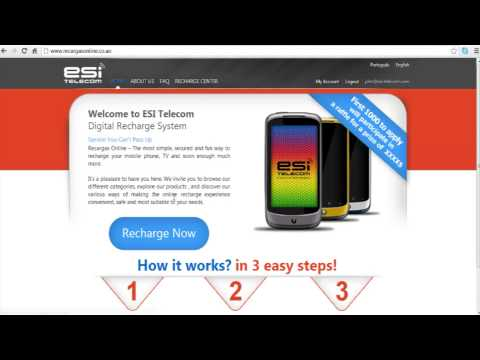 ESI Telecom online recharge system