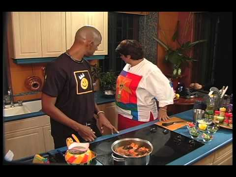 Cooking Pelau with Roger Roberts