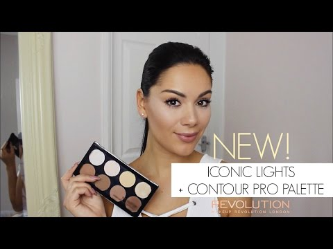 NEW MAKEUP REVOLUTION ICONIC LIGHTS AND CONTOUR PRO PALETTE