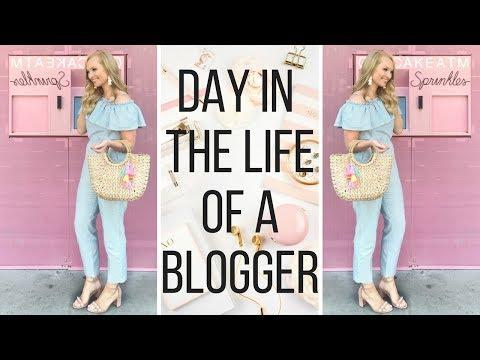 Behind the Blog Vlog: Blogger Brunch + Swag Bag