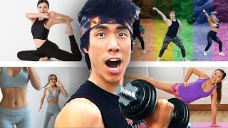 The Try Guys Try Fitness YouTuber Workouts