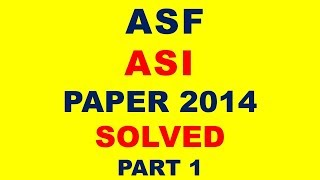 FPSC APPRAISING VALUATION OFFICER BATCH 3 Solved Paper 2 May Part 1