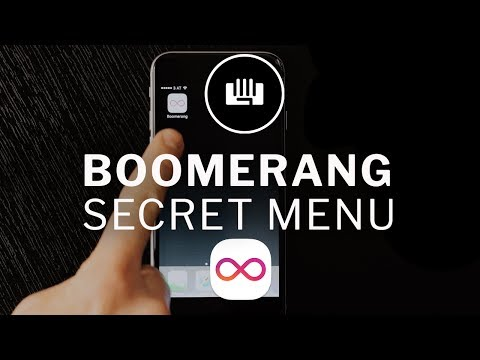 Boomerang App HACK: Unlock the SECRET MENU