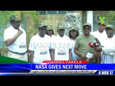Senator Orengo gives NASA'S political move today