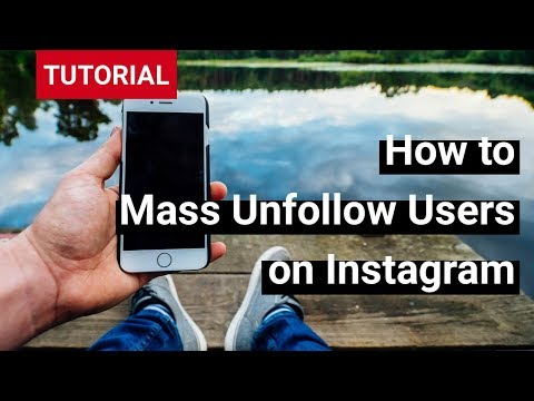How to mass unfollow users on Instagram