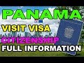 Panama Visit Visa [Citizenship] [Business Visa] in Urdu / Hindi 2018 By Premier Visa Consultancy