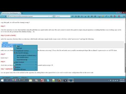 Set up Git on Linux Server over SSH - TortoiseGit on a Windows client machine