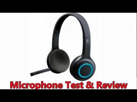 Logitech H600 Headset: Microphone Test and Review