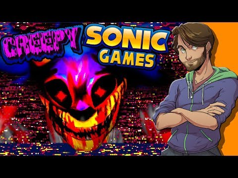 CREEPY SONIC GAMES - SpaceHamster