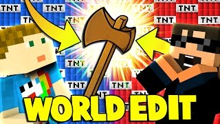 Minecraft: MODDED TNT WARS - NEW TNT AND WORLD EDIT?! [2]