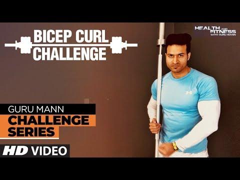 Week 2 - BICEP CURL CHALLENGE l Guru Mann Challenge Series
