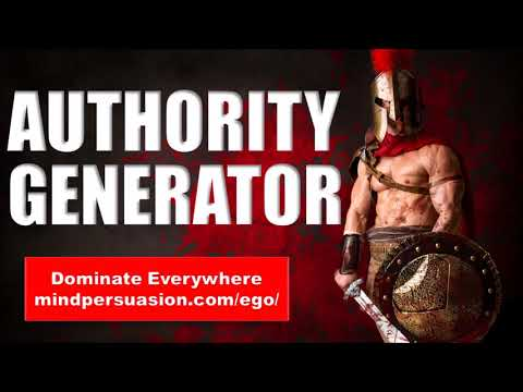 Authority Generator - Make People Respect You Immediately - Subliminal Affirmations