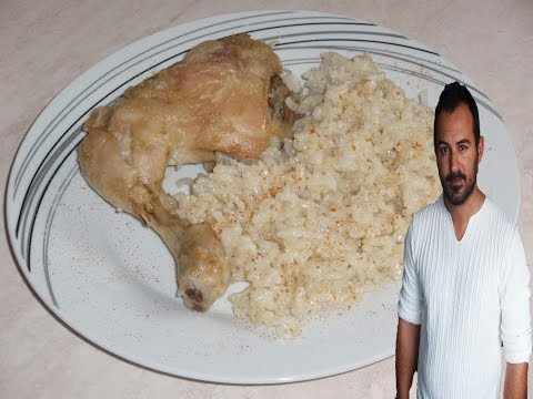 Greek-Style Chicken and Rice (pilaf)