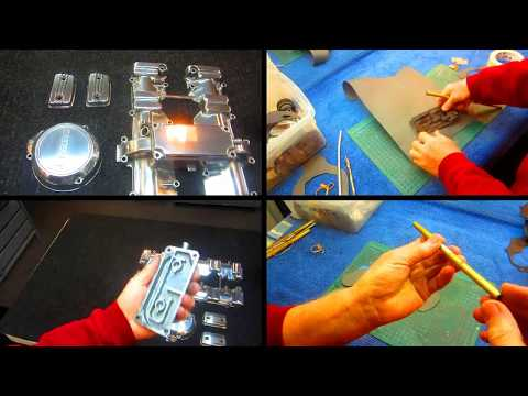 HOW TO MAKE GASKETS FOR MANY MOTORCYCLES AND CARS.
