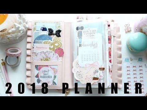 NEW 2018 Planner + Set Up #OrganizeWithChar