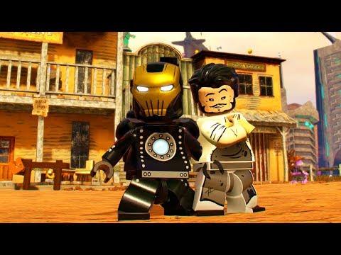 LEGO Marvel Super Heroes 2 Iron Man (Old West) Unlock Location + Free Roam Gameplay