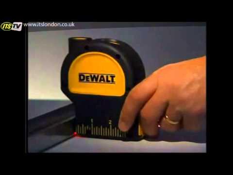 ITS TV Dewalt DW082K Self Levelling Plumb Bob Laser