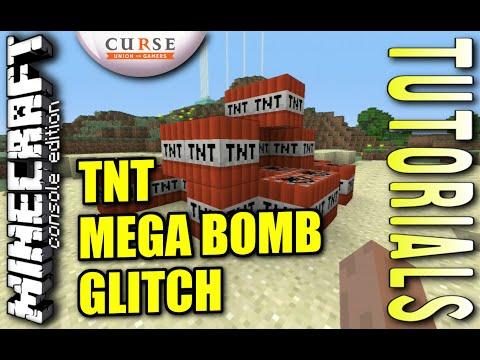 MINECRAFT - PS3 - TNT MEGA BOMB GLITCH - HOW TO - TUTORIAL ( PS4 / XBOX /PC )  UPDATE