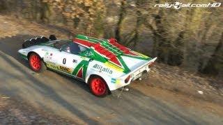 Lancia Stratos - Great Sound - Taunus Rallye 2012 [HD]