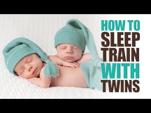 How to Sleep Train With Twins