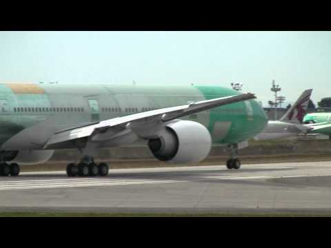 KLM 777 Taxi Test