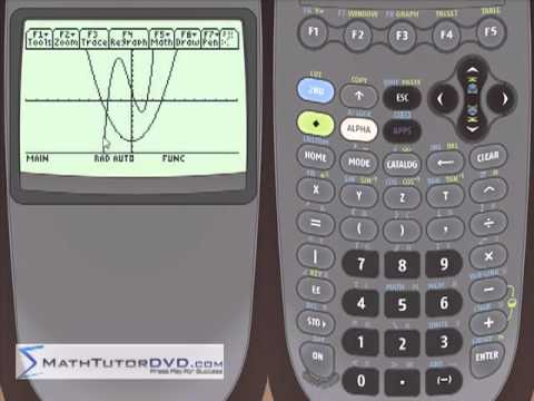 Lesson 30 - Finding Max And Min Of A Function In Graph Mode