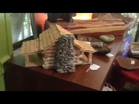 Chech out our Awesome hand made incense burner cabin!