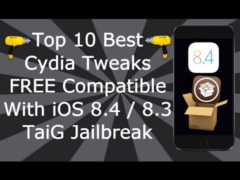 Top 10 Best Cydia Tweaks FREE Working On iOS 8 / 9 / 10 / 11 iPhone, iPad & iPod Touch